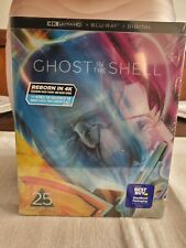 Ghost In The Shell 25th Anniversary Steelbook (4K/Blu-ray/No Digital) 9/8/20