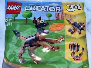 LEGO Creator 3-in-1: German Shepherd (30578) *NEW 2021* Polybag New Sealed