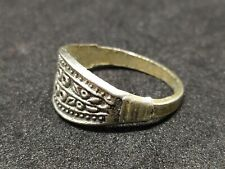 Style Metal Very Old Jewelry Extremely Rare Ring Ancient Vintage-Antique Viking
