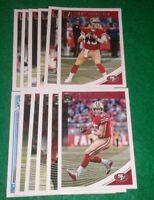 2018 Donruss San Francisco 49ers Team Set, George Kittle 11 cards 2 RC