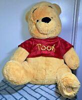 "Disney Store Winnie the Pooh Large Plush Toy 20"" Super Soft Tigger Hard_8s_Magic"