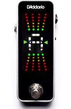 D'Addario PW CT 20 Chromatic Pedal Guitar Bass Tuner