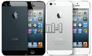 Apple iPhone 5 16GB 32GB 64GB GSM Smartphone Factory Unlocked Black White