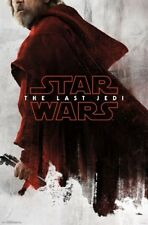 LAST JEDI - RED LUKE - STAR WARS POSTER - 22x34 MOVIE 16227