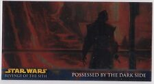 STAR WARS TOPPS REVENGE OF THE SITH WIDEVISION ROTS RETAIL CHROME FOIL INSERT R7