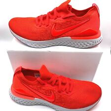 Nike Men's Epic React Flyknit 2 Chile Red BQ8928-601 Running Shoes Size 11 New