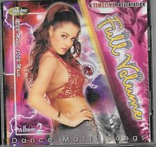 FULL VOLUME ALBUM 2 (DANCE MASTI SONGS) BRAND NEW MIX SONGS CD  - FREE UK POST