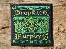 ECUSSON PATCH aufnaher toppa THERMOCOLLANT DROPKICK MURPHYS punk musique irlande