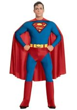 Adult Licensed Movie Classic Superman Mens Fancy Dress Costume Medium size