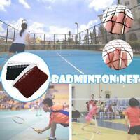 Best Badminton Tennis Volleyball Net Sports Mesh For Beach home Outdoor Q9J7