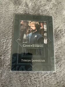 Game Of Thrones Tradingcard Tyrion Lannister Piece Of Tyrion Shirt / Mint