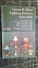 Lamps & Other Lighting Devices 1850 - 1906 Assorted Co.