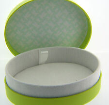 LOT OF 3 NEW AUTHENTIC CHAMILIA BRACELET / BANGLE GREEN LARGE OVAL 3 GIFT BOXES
