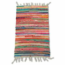 Cotton Chindi Multi Rug Mat 50 x 80 cm