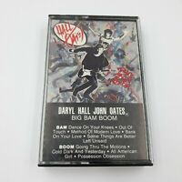 Daryl Hall John Oats Big Bam Boom Cassette Tape RCA Records 1984 9 Songs Nice