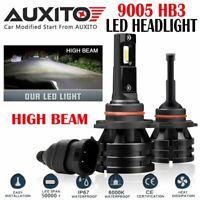 2X 9005 HB3 LED Headlight light Lamp 9140 9145 6000K 20000LM 200W CSP Bulb EOA