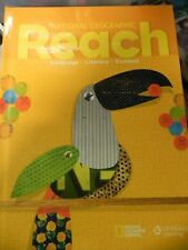 National Geographic Reach Language Literacy Content 4th Grade Level 4 Textbook