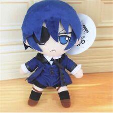 "11"" Anime Black Butler- Kuroshitsuji Ciel Phantomhive Stuffed Plush Toy Doll"
