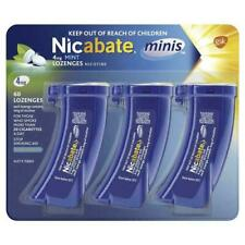 Nicabate Minis Quit Smoking Lozenge 4 mg 60 Pieces-Releases Therapeutic Nicotine