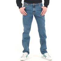 Wrangler Stretch Jeans Regular Straight Fit Black and Blue BNWT £49.99 FREE POST