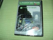 """DVD NEUF """"LA PASSION DES TRAINS VOL 67 - J'AIME LE TRAIN"""" patrimoine SNCF"""
