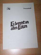 ES BRENNT AN ALLEN ECKEN - Presseheft ´78 - ALAN ARKIN Rob Reiner