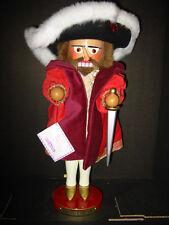 Steinbach 271 King Henry VIII Royalty Series Nutcracker signed by Christian