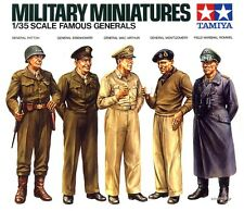 Tamiya 35118 Famous Wwii Generals Figures Plastic Figure Model kit 1/35