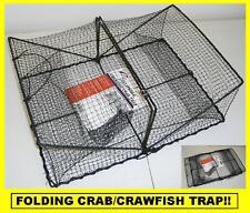 PROMAR COLLAPSIBLE CRAB/CRAWFISH TRAP Folding Trap! BRAND NEW! #TR101