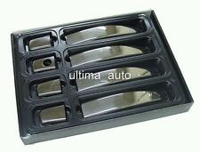 CHROME DOOR HANDLE COVERS STEEL FOR VAUXHALL ASTRA H CORSA D ZAFIRA B