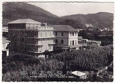 SAVONA PIETRA LIGURE 55 VILLA PAOLINA Cartolina FOTOGRAFICA viaggiata 1954