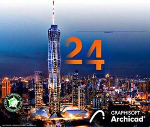 ARCHICAD 24 italiano software architettura progetti BIM - PC WINDOWS e MAC