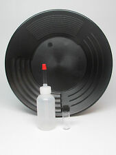 """10"""" 4 Stage Martin Prospecting Gold Pan Kit Made In The Us Black"""
