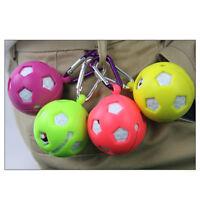1PC Random Color Golf Ball Silicone Ball Sleeve Protective Cover Keyring