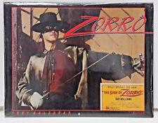"1991 Zorro Calendar - Guy Williams - 12½"" x 9¾"" - SEALED!"