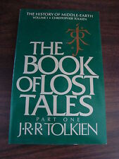 History of Middle-Earth: The Book of Lost Tales Vol. 1 : The History of Middl...