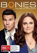 BONES (COMPLETE SEASON 9 DVD SET SEALED + FREE POST)