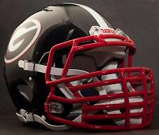 ***CUSTOM*** GEORGIA BULLDOGS UGA NCAA Riddell SPEED Football Helmet (BLACK)