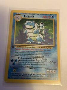 French Blastoise Tortank 1st Edition Holo Base Set Pokemon Card Holo 2/102