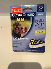 "Hartz Ultraguard Flea And Tick Large Dog Collar 26"" - White (Pack of 2)"
