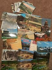 VINTAGE COLORADO & Rocky Mountain NATIONAL PARK TOURIST MAPS & POSTCARDS