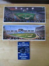 Vintage Chicago White Sox/Comiskey Park Lot~2 Lithograph Prints & 1990 Schedule