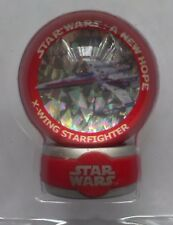 STAR WARS 1 inch marble & base. Series 2 17  X-Wing Starfighter Boxed COLLECTORS