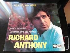 EP RICHARD ANTHONY - ARANJUEZ, MON AMOUR + 2 - LA VOZ DE SU AMO SPAIN 1967 VG+