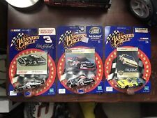 Lot Of 3 Dale Earnhardt Winners Circle Nascar Diecast 1:64 Scale.