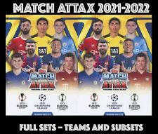 More details for topps champions league match attax 2021-2022 21/22 full sets