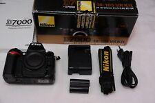 BOXED NIKON d7000 16.2MP DSLR Camera + Accessories