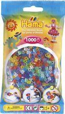 Hama Sachet de 1000 perles à repasser paillettes ref 54