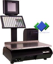 Mettler-Toledo bc-u2 DP Matrix Display Black étalonnage jusqu 'en 2017 avec politiques budgétaires (GDPdU)