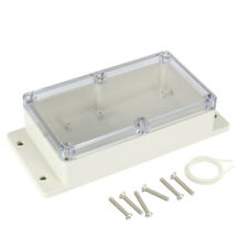 Waterproof Junction Box Enclosure ABS Clear Electronic Project Case 158x90x46mm